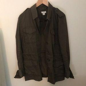 J crew utility jacket! Size XS!